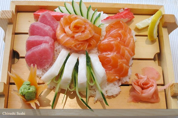 Natsu sushi sake maguro set natsu sushi chirashi sushi