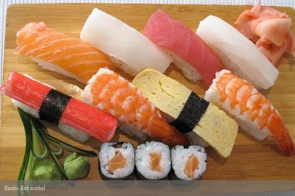 Natsu sushi sushi set mittel natsu sushi sushi set groß